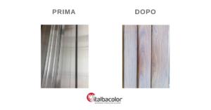 ossidazione alluminio prima e dopo