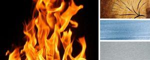 comportamento al fuoco materiali