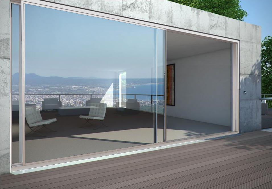 Finestre in alluminio anodizzato gallery of finestre in for Finestre anodizzate