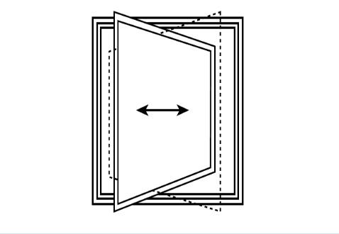 Sistemi di apertura finestre e tipologie di infissi italbacolor - Finestre a bilico verticale ...