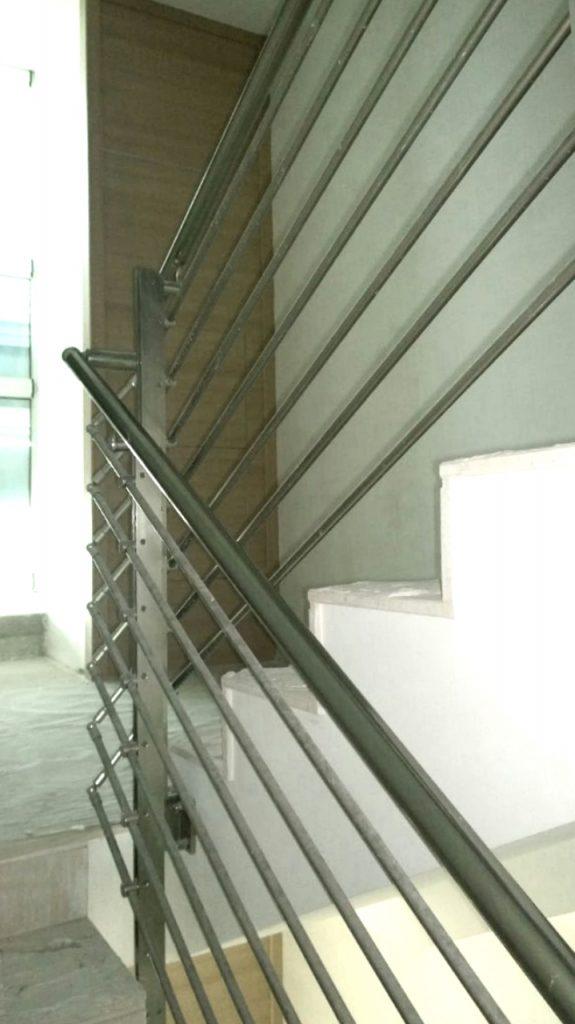 ringhiere in alluminio per scale e interni