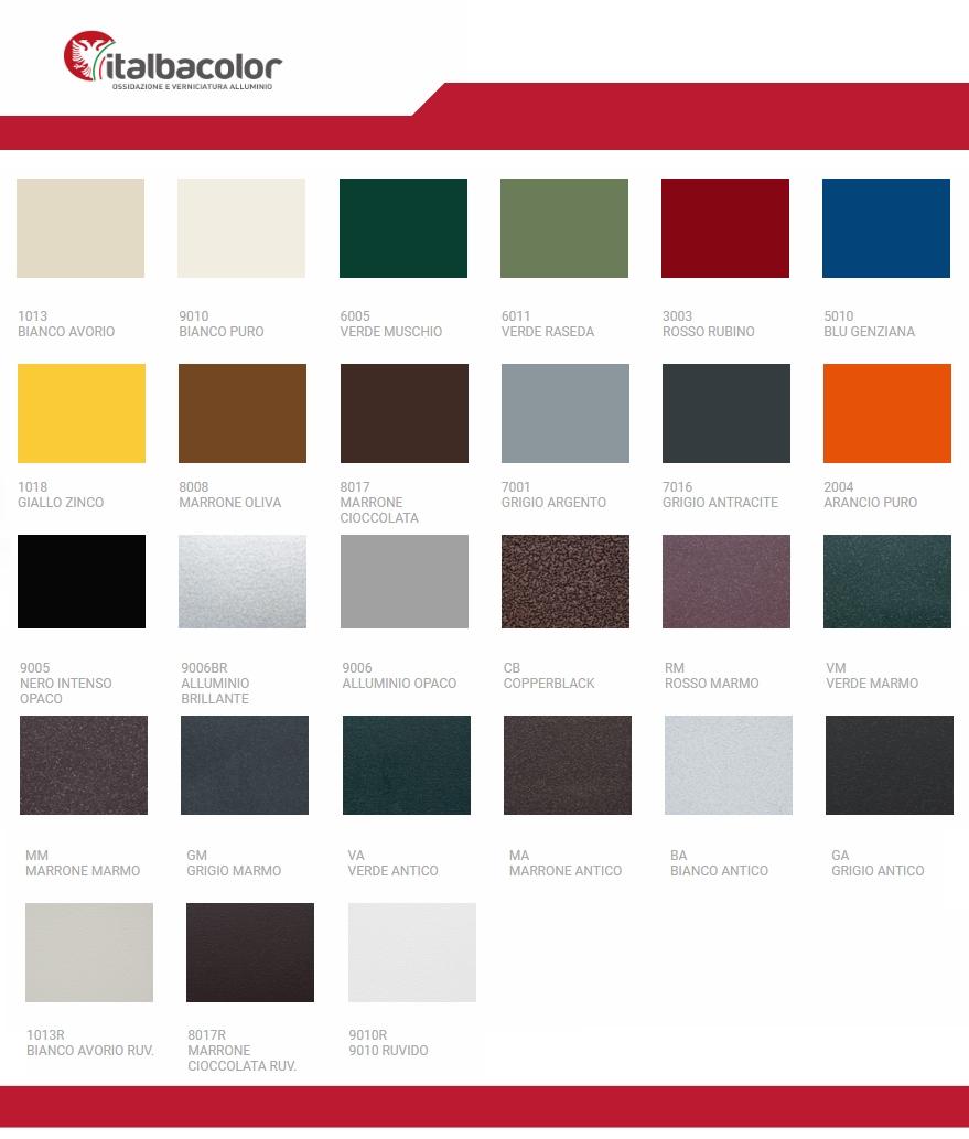 Colori Che Stanno Bene Insieme come scegliere il colore di infissi e persiane | italbacolor