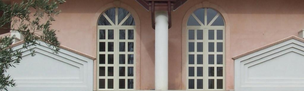 finestre ovali, ad arco, tonde e oblò