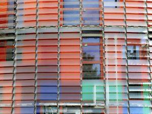 Torre Agbar pannelli in alluminio