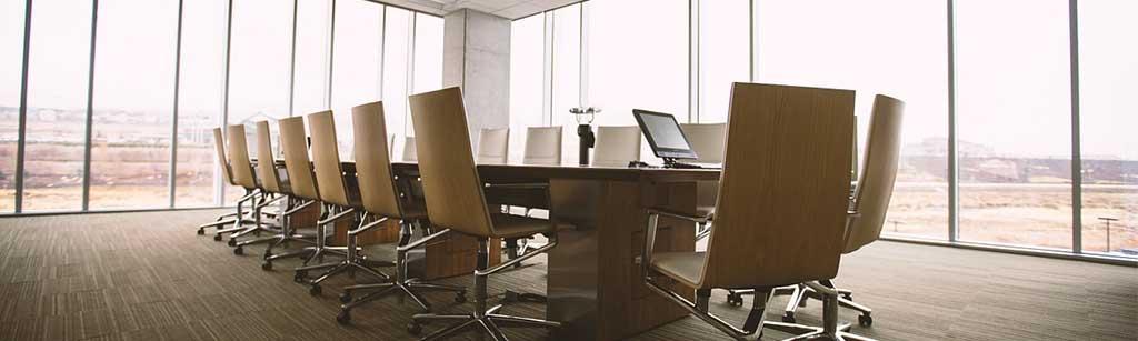 Porte alluminio e vetro per uffici