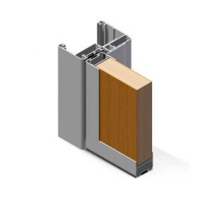 profilo in alluminio px450 di twin systems