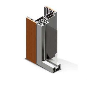 profilo in alluminio px450 linear di twin systems